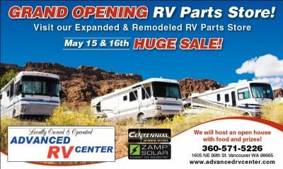 Grand Opening Sale! May 15th & 16th
