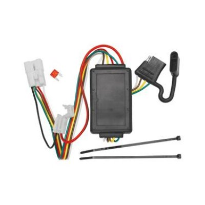 trailer wiring connector kit t one 4 way flat replacement for oem wiring harness_l trailer wiring connector kit; t one; 4 way flat replacement for oem