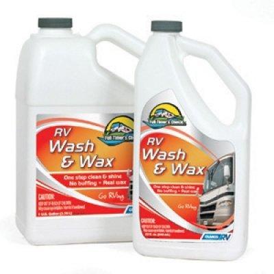 rv wash & wax 1 gallon
